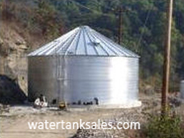 100,000 Gallon Steel Water Tank